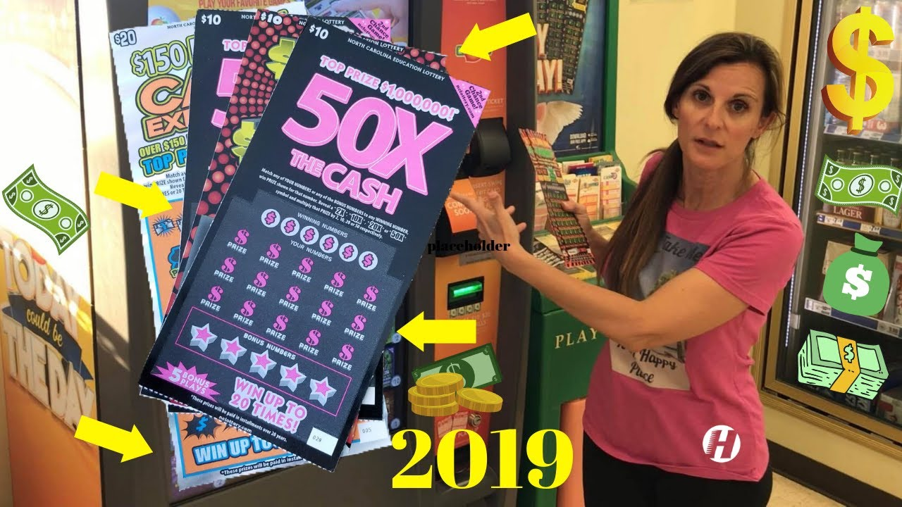 Scratch Off Lottery Tickets [2019] 50X THE CASH Winner