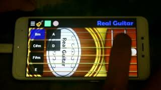 Motif Tuhan Jagakan Dia Cover Real Guitar
