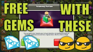 Get free 100 gems in Clash of clans legally 100% working