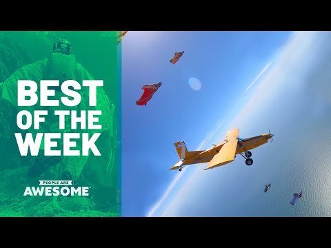 Best of the Week: Wingsuit Flying, Scooter Tricks & More | People Are Awesome