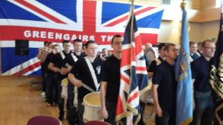 Bridgeton loyalists flute band @ Greengairs Thistle cultural day 2014 pt 3