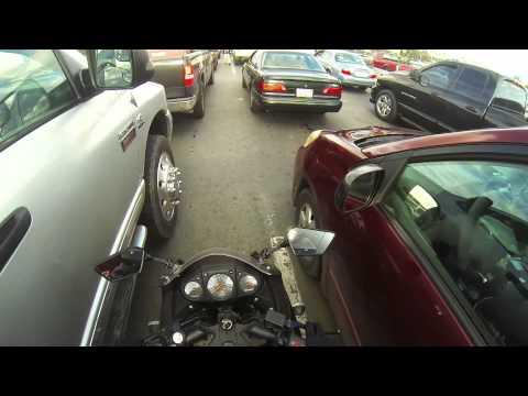 Motorcycle Lane Splitting at the Tijuana Border
