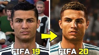 FIFA 20   New Face Concept   ( Ronaldo, Sergio Ramos, Aguero )