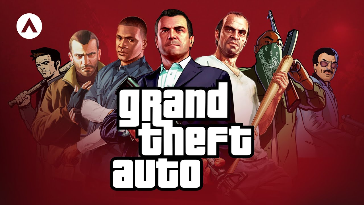 The History of Grand Theft Auto - YouTube