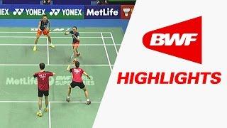 Yonex Sunrise Hong Kong Open 2015 | Badminton SF – Highlights