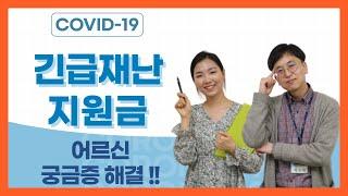 [은빛파워TV]#19.  코로나 19_국가재난지원금 어…