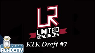 Limited Resources: KTK Draft #7, 21 November 2014