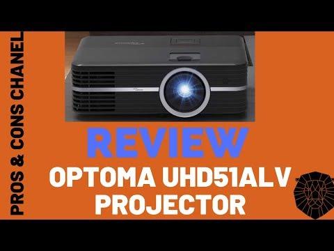 Optoma UHD51ALV True 4K UHD Smart Projector  Review