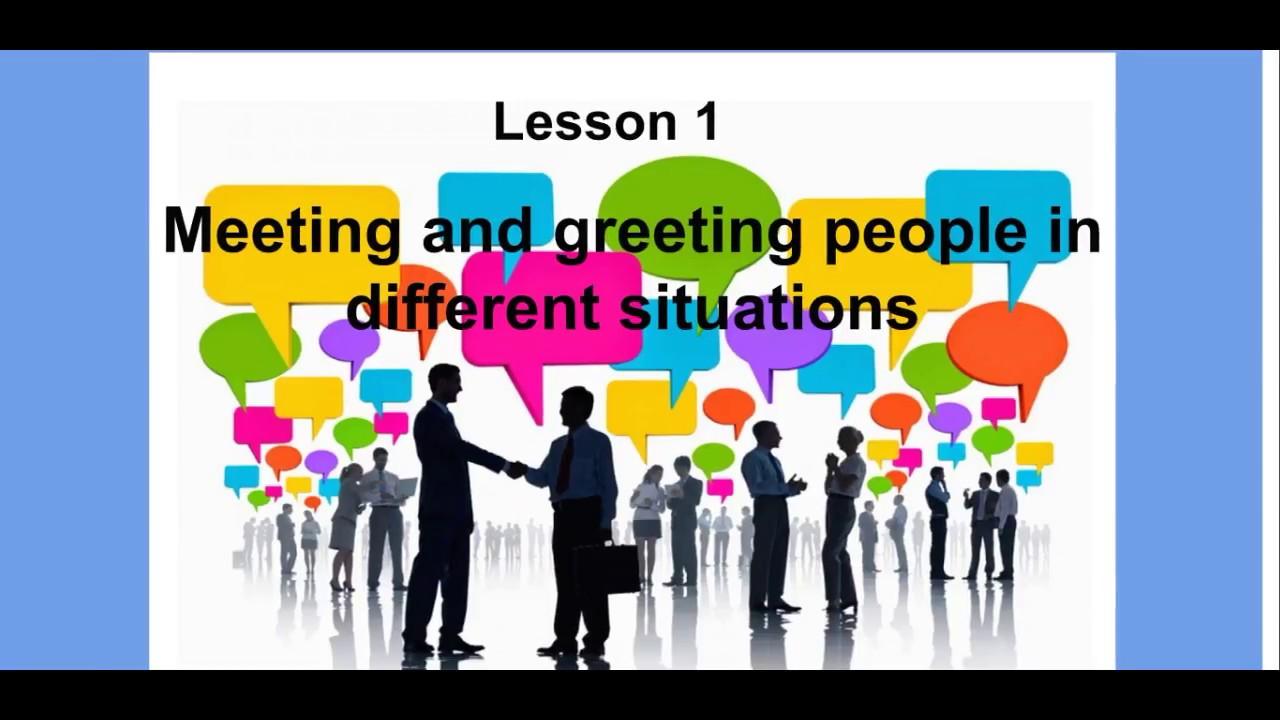 Kurs English Chunks Fragment Lekcji 1 Meeting And Greeting