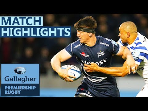 Sale 6-3 Bath | Sale Keep Pressure On For Top Four Spot | Gallagher Premiership - Highlights
