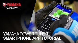 Your Yamaha Power Tuner Smartphone App Tutorial