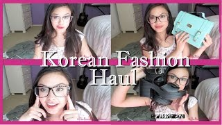 Pt. 3 HUGE Korean Fashion Haul! Clothes, Shoes, Purses and MORE!