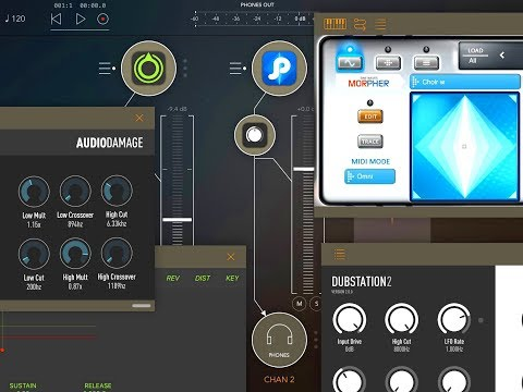 Building a MASSIVE Synth Scape Patch Demo for the iPad