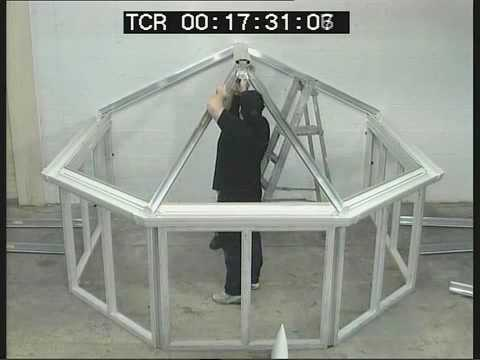 Trade Price Conservatories Global Roof Built in 43 Minutes