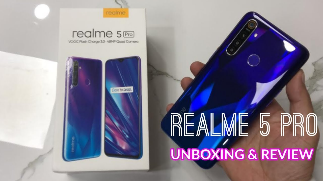 Realme 5 Pro Unboxing and Review - YouTube