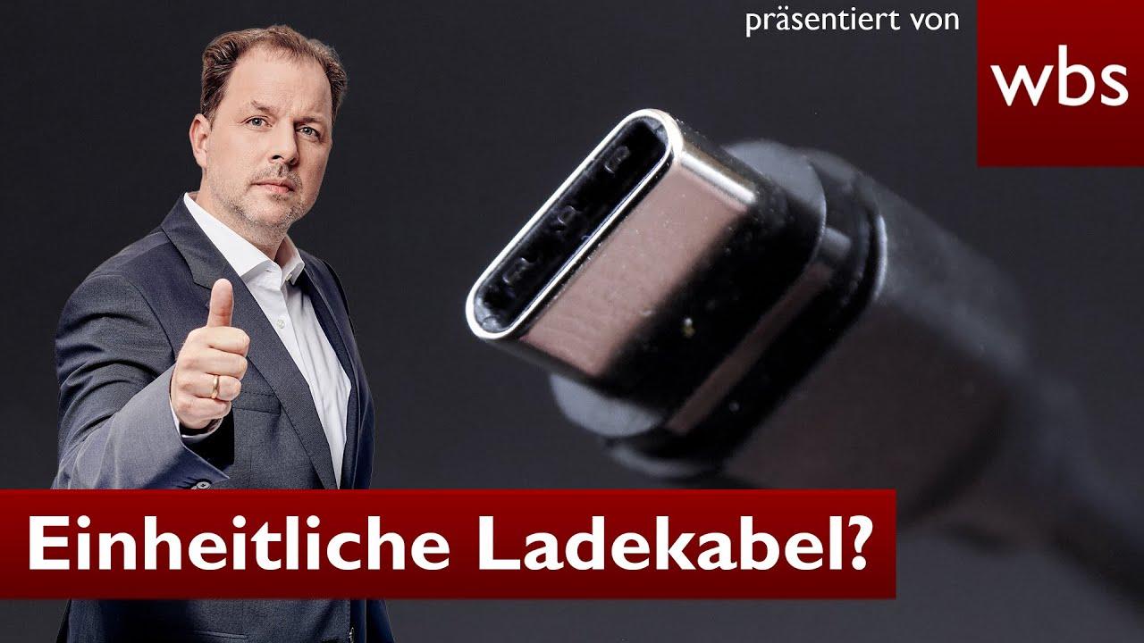 Download USB-C: Endlich einheitliche Ladekabel für Apple, Samsung & Co?   Anwalt Christian Solmecke