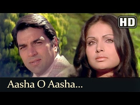 Aasha O Aasha HD  Blackmail 1973 Song  Rakhee Gulzar  Dharmendra  Lata Mangeshkar