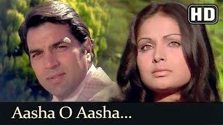 Aasha O Aasha (HD) - Blackmail (1973) Song - Rakhee Gulzar - Dharmendra - Lata Mangeshkar