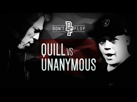 UNANYMOUS VS QUILL | Don't Flop Rap Battle