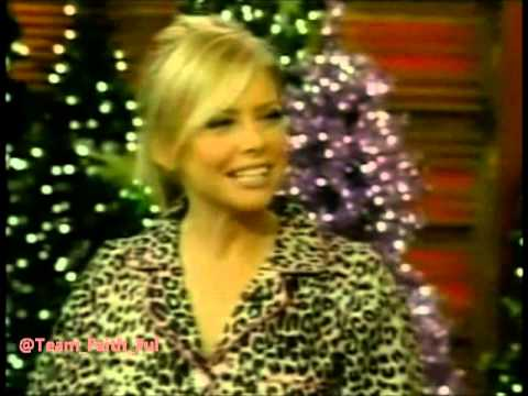 Faith Ford  LIVE! With Regis And Kelly Holiday  2008 **