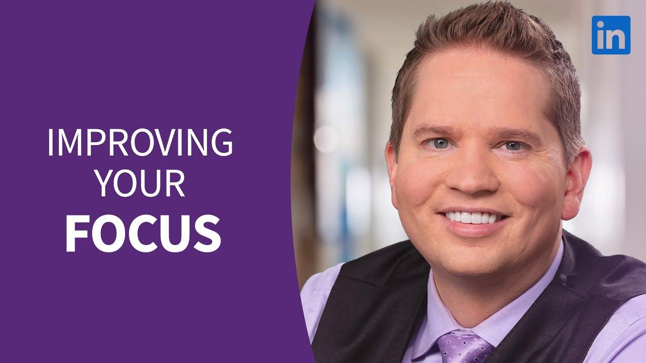 Professional Development Tutorial - Improving your focus