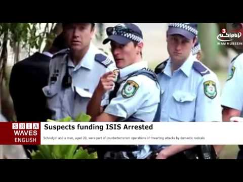 Australia police arrest suspects of funding ISIS