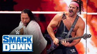 Rick Boogs and Shinsuke Nakamura rock Happy Talk SmackDown Oct 15 2021
