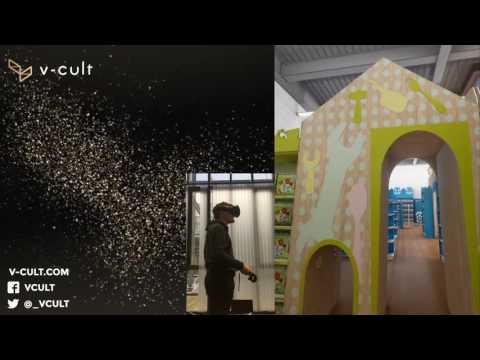 VR walkthrough of E.Leclerc's new concept store 'Jouet'