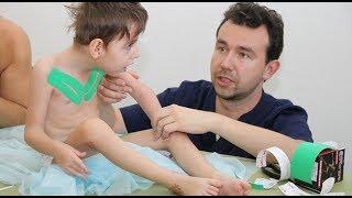 как сделать массаж детей при дцп