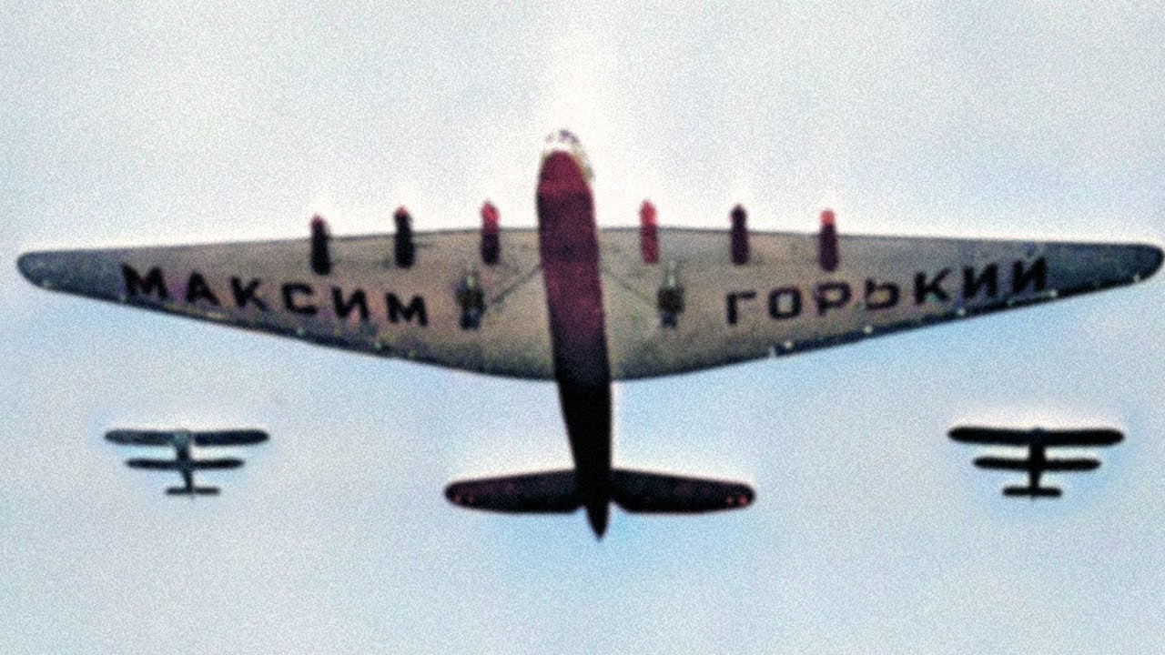 Tupolev ANT-20 Maxim Gorky - The Largest Land Based Transport Before WW2