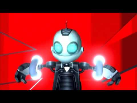 Vidéo Ratchet et Clank Embuscade de Double Zéro — Rôle de Double Zéro (avec Martial Leminoux, Clank)