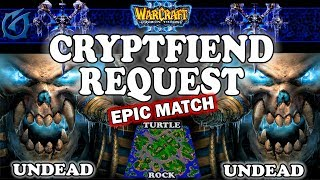Grubby | Warcraft 3 TFT | 1.29 | UD v UD on Turtle Rock - Cryptfiend Request