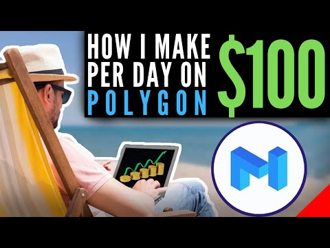 How To Yield Farm on Polygon and Earn $100 Dollars a Day