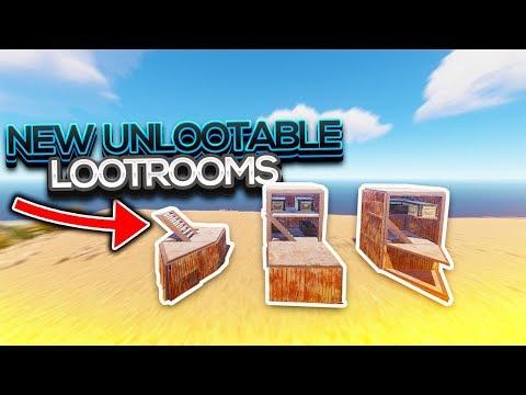 Rust   NEW UNLOOTABLE LOOT ROOMS! thumbnail