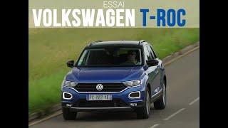Essai Volkswagen T-Roc 1.6 TDi 115 Lounge (2019) Video