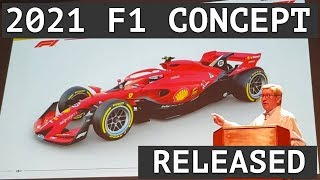 F1 Unveil 2021 Concept Car - Points For Every Car - Fairer Pathway Into F1