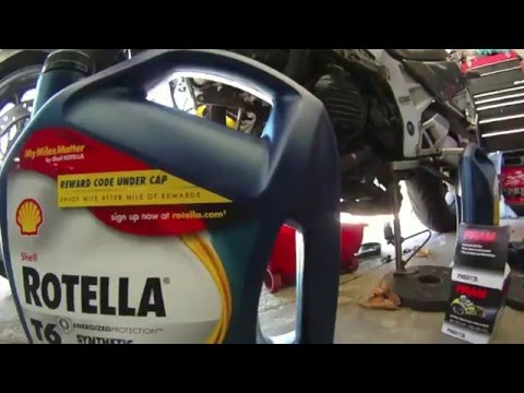 Shell Rotella T6 Oil In Motorcycle (UPDATE)