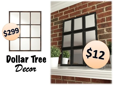 Dollar Tree Decor | Pottery Barn Dupes