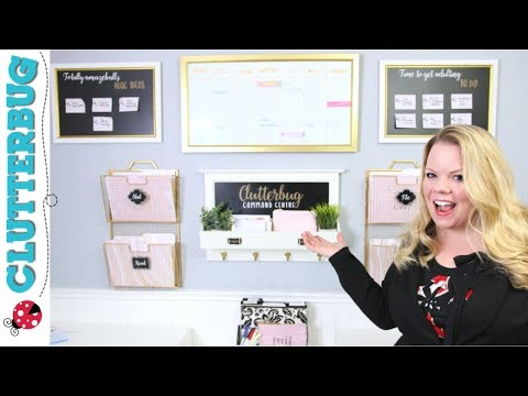 Create a Command Center - Week 7 - Hug Your Home Challenge
