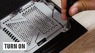 So wechselt ihr die Festplatte bei PS4 & PS4 Pro - TURN ON Help