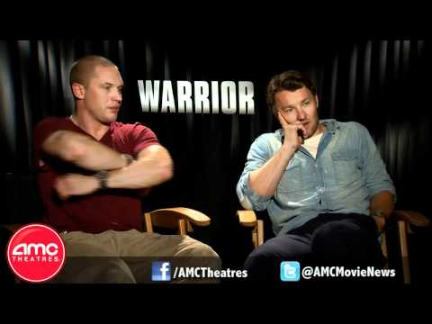 Tom Hardy and Joel Edgerton Talk WARRIOR With AMC