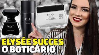 Conto tudo para vocês nesse vídeo sobre o perfume Elysée Succes o Boticário, conto tudo também sobre o Body Splash Elysée Succes e o Creme Acetinado ...