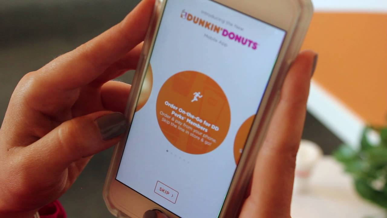 Dunkin Doughnuts Application Download