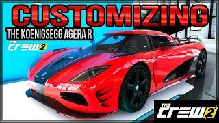 BUYING AND CUSTOMIZING THE KOENIGSEGG AGERA R IN THE CREW 2