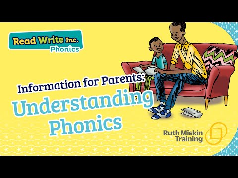 Parent video: Understanding Phonics