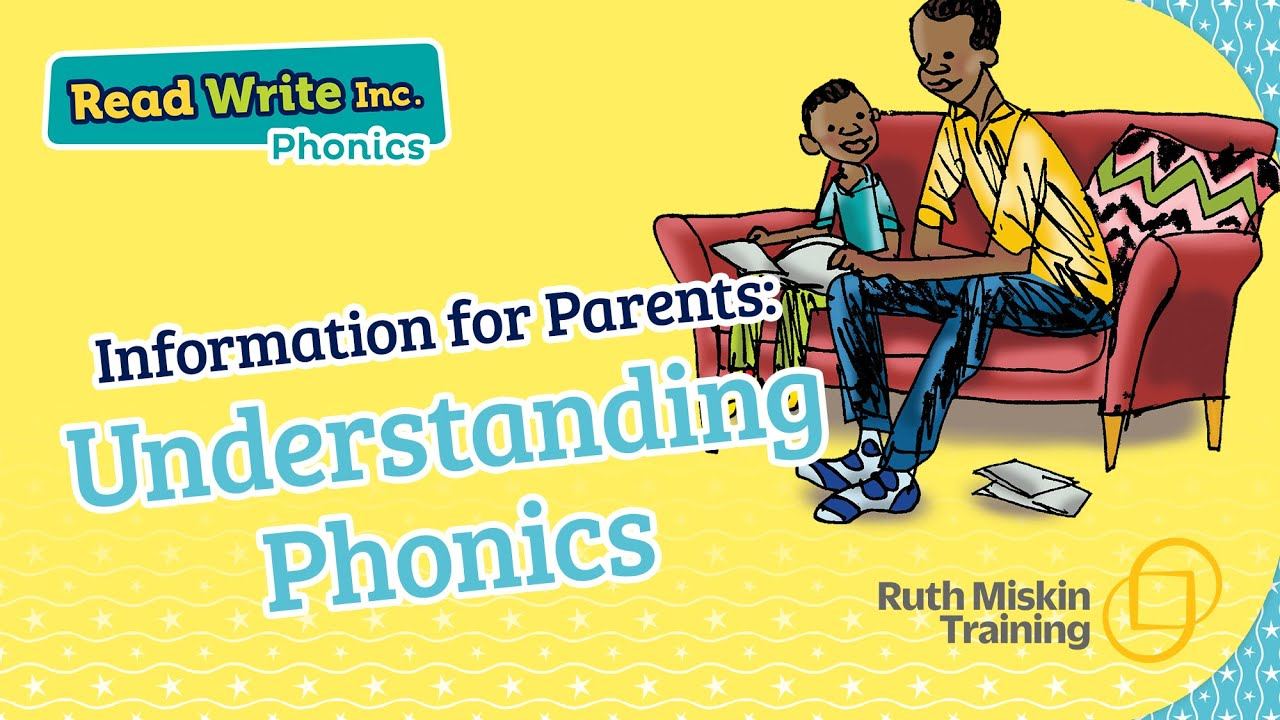 RWI parent video: Understanding Phonics