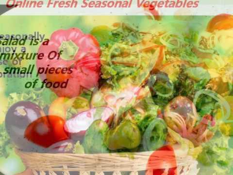Organic Fresh Vegetables & Fruits Online