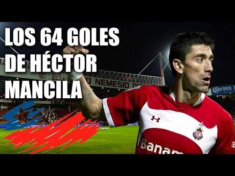 Los 64 goles de Héctor Mancilla con Toluca
