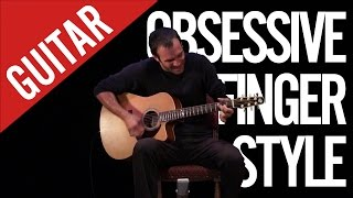 Guitar !! Super Fast Acoustic Music !!! Unplugged Solo ! Obsessive Fingerstyle by Nicolas Bannwarth