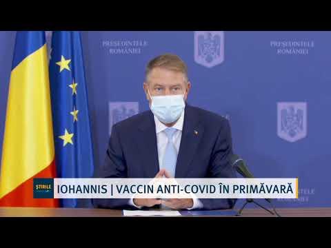 Iohannis | Vaccin Anti-covid în Primăvară